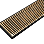 Gold Plated Shower Grates