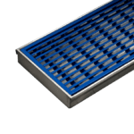 Blue Coloured Wedgewire Grates